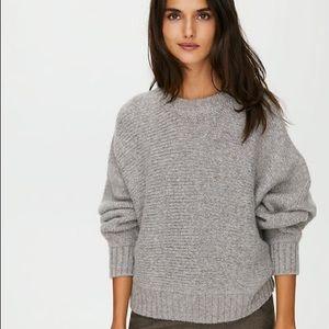 ARITZIA Babaton Day off sweater in grey